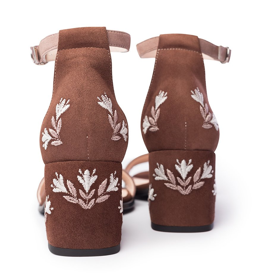 Sandals Jee Brown