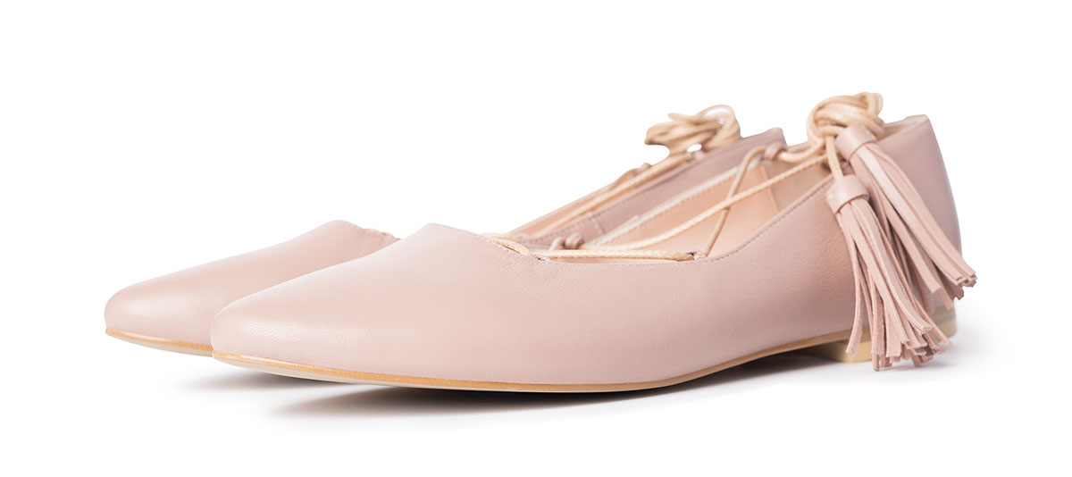 Ballerinas Lil Beige Photo 2