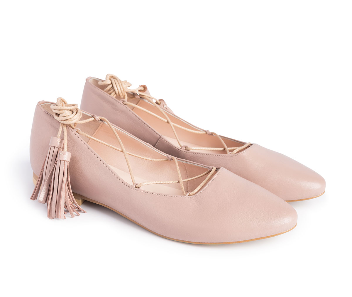 Ballerinas Lil Beige Photo 5