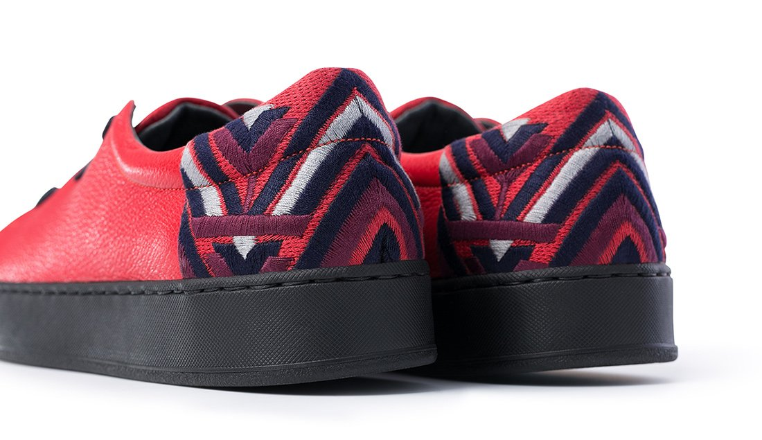 Slip-ons SW2 Red